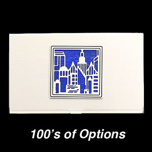 City Lights Business Card Holders