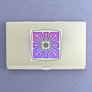 Bright Flash Business Card Case