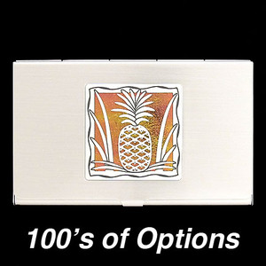 Pineapple Business Card Case
