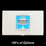 Birthday Cake Business Card Case