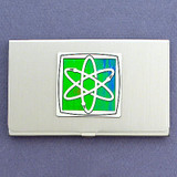 Nuclear Atom Business Card Holder