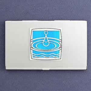 Water Drop Business Card Holder