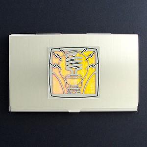 Light Bulb Business Card Case