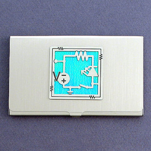 Electronics Business Card Holder