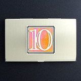 Number Ten Business Card Case