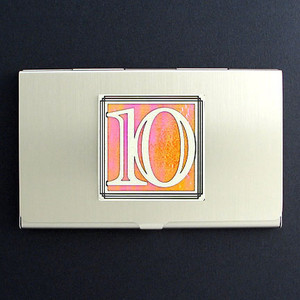Number Ten Business Card Case