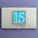 Fifteenth Year Business Card Case