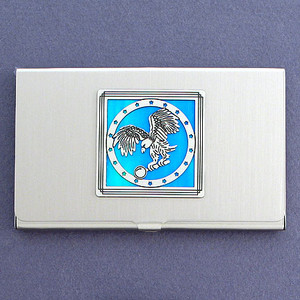 Eagle Coin Business Card Case