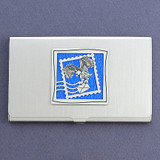 Postage Stamp Business Card Case