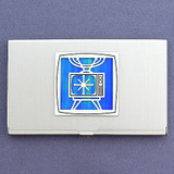 TV Broadcaster Business Card Case