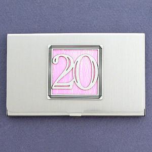 Number Twenty Business Card Case
