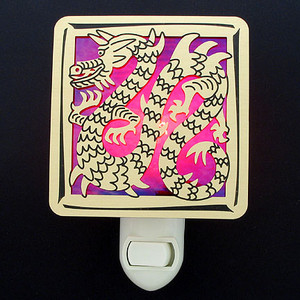 Chinese Dragon Night Light