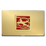 Airliner Business Card Case