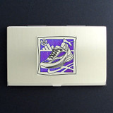 Athletic Running Shoe Business Card Case