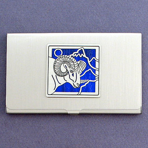Ram Business Card Case