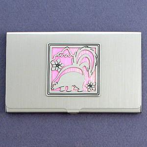 Skunk Business Card Case