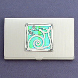 Snail Business Card Case