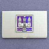 Medieval Castle Business Card Case
