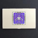 Victorian Lotus Card Case