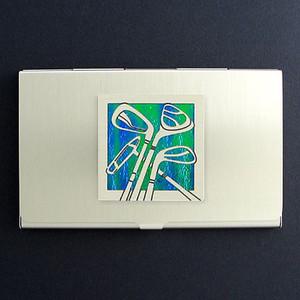 Golf Business Card Case