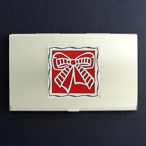 Fancy Bow Business Card Case