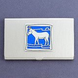 Donkey Business Card Case