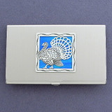 Wild Turkey Business Card Case