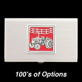 Farm Tractor Business Card Holder