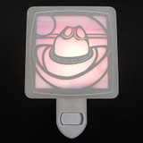 Cowboy Hat Night Light