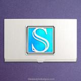 Monogrammed Letter S Business Card Cases
