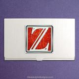Monogrammed Letter Z Business Card Holders