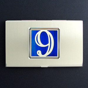 Lucky Number 9 Business Card Cases