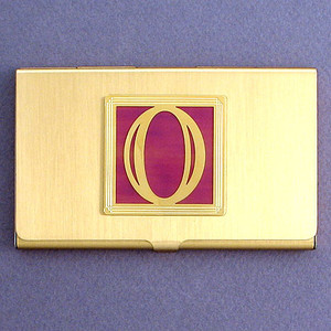 Number Zero Business Card Case