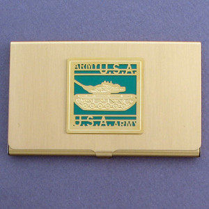 Army Tank Business Card Holder