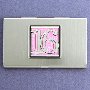 Sweet 16 Business and Credit Card Wallet Case