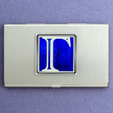 Greek Letter Gamma Business Card Holder