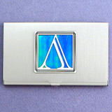 Greek Letter Lambda Business Card Holder