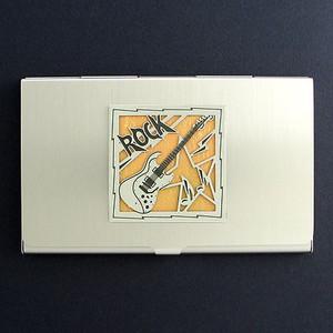 Rock N Roll Business Card Holder