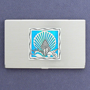 Seashells Card Holder