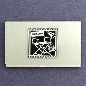 Director's Seat Business Card Holder