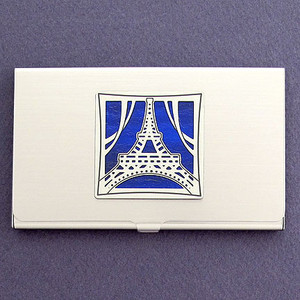 Eiffel Tower Business Card Holder