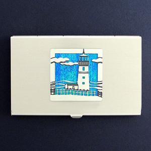 Lighthouse Business Card Holder