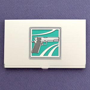 Handgun Business Card Holders