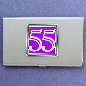 Number 55 Business Card Case