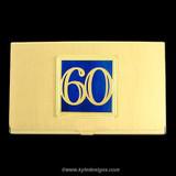 Number 60 Business Card Case