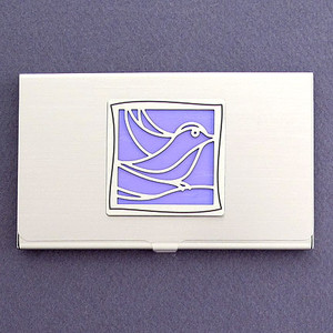 Songbird Business Card Holder
