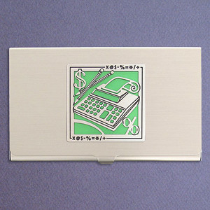 Office Manager Business Card Case