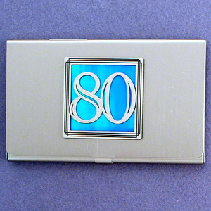 Number 80 Business Card Cases