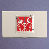 Fencing Business Card Case