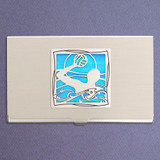 Water Polo Business Card Case